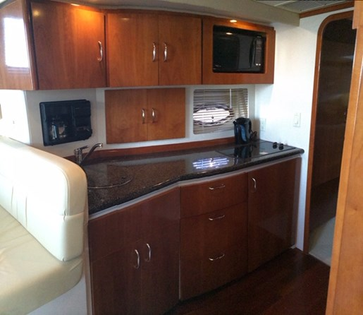 2004 Carver boat for sale, model of the boat is 350 Mariner & Image # 7 of 8