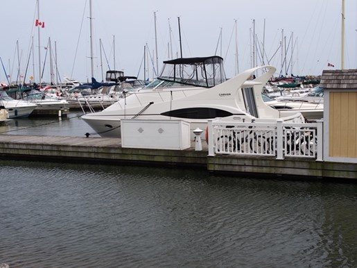 2004 Carver boat for sale, model of the boat is 350 Mariner & Image # 2 of 8
