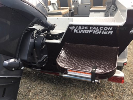 2019 KingFisher 1825 Falcon Yamaha 90 & Trailer Photo 11 sur 12