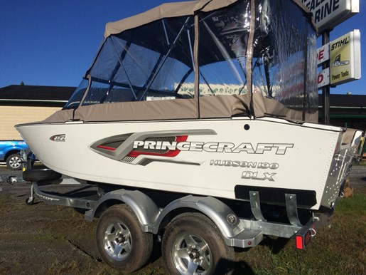 Princecraft Hudson 190 Dlx Ws White 2018 New Boat For Sale