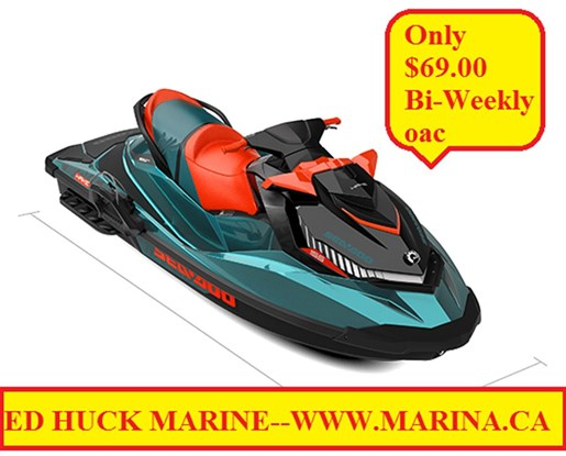 For Sale: 2018 Sea Doo Pwc Wake 155 0ft<br/>Ed Huck Marine Limited