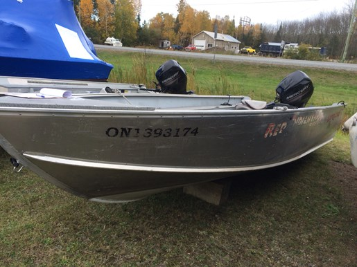 Lund 1800 lund alaskan 2008 used boat for sale in nestor for Used lund fishing boats for sale