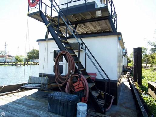 Steel tug 1974 used boat for sale in galliano louisiana for Tow motor operator job description