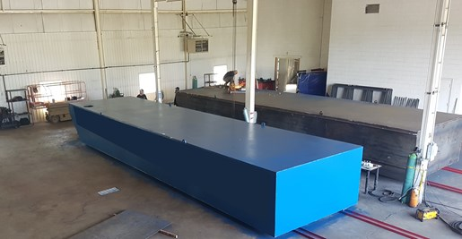 2018 40' x 10' x 5' Sectional Barge Photo 2 of 5