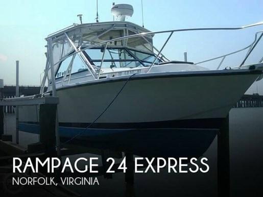 1986 Rampage 24 Express Photo 1 of 20