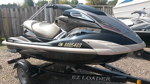Yamaha fx ho 2010 used boat for sale in grand bend ontario for Yamaha waverunner covers sale