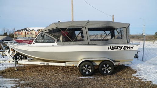 North River 21' Commander 2005 Used Boat for Sale in Gibbons, Alberta -  BoatDealers ca