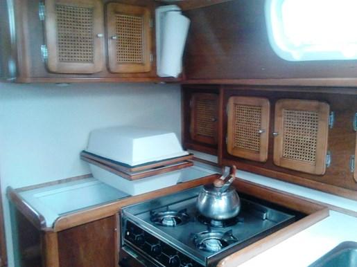 2003 Custom Bruce Roberts 370E deck salon Photo 22 sur 43