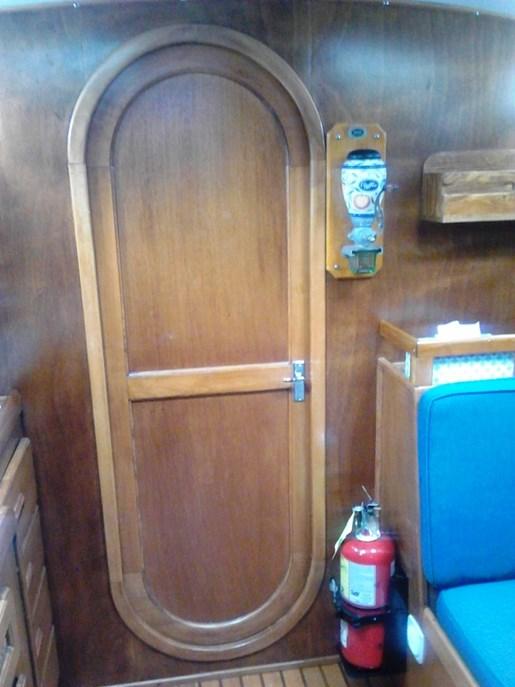 2003 Custom Bruce Roberts 370E deck salon Photo 24 sur 43