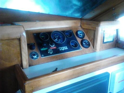 2003 Custom Bruce Roberts 370E deck salon Photo 25 sur 43