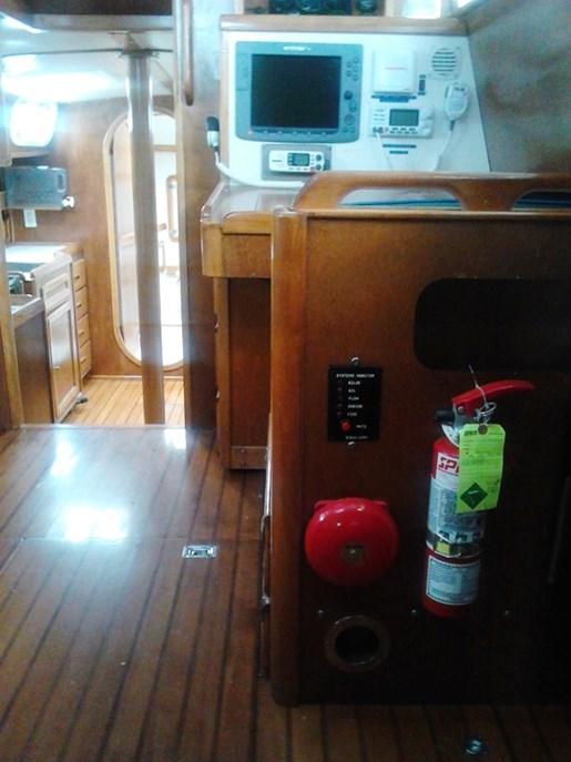 2003 Custom Bruce Roberts 370E deck salon Photo 31 sur 43