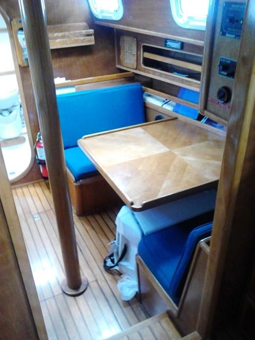 2003 Custom Bruce Roberts 370E deck salon Photo 34 sur 43