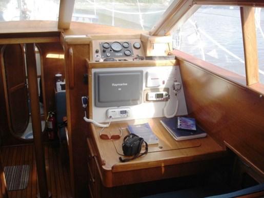 2003 Custom Bruce Roberts 370E deck salon Photo 38 sur 43