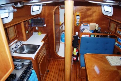 2003 Custom Bruce Roberts 370E deck salon Photo 40 sur 43