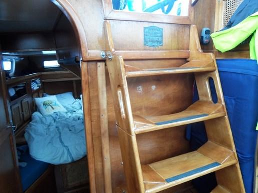 2003 Custom Bruce Roberts 370E deck salon Photo 42 sur 43