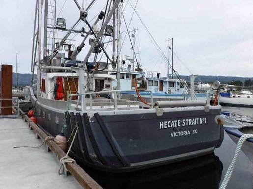 Tender Longliner Packer Trawler 1979 Used Boat For Sale