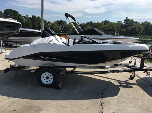 2018 Scarab 165 Ghost Rotax 150HP Trailer Photo 3 of 13