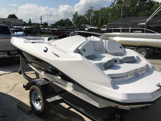 2018 Scarab 165 Ghost Rotax 150HP Trailer Photo 4 of 13