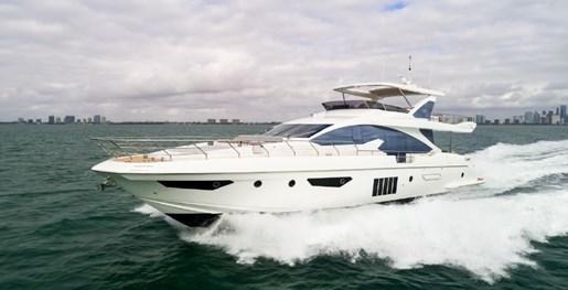 Azimut 80 Flybridge 2018 Used Boat For Sale In Miami Florida