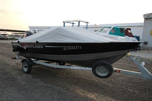 bateau de peche crestliner a vendre