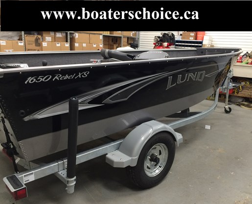 Lund 1650 Rebel Xs Tiller 2018 New Boat For Sale In