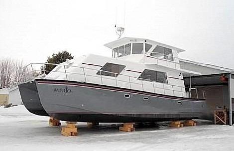 2014 Custom Flybridge Catamaran 50 Photo 6 sur 28