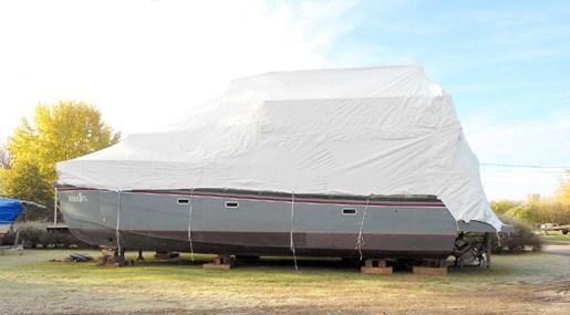 2014 Custom Flybridge Catamaran 50 Photo 25 sur 28