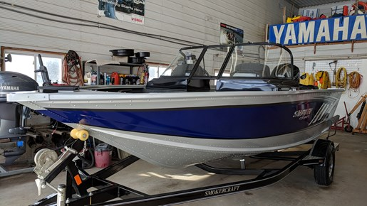 Smoker craft pro mag 182 2018 new boat for sale in grand for Smoker craft pro mag