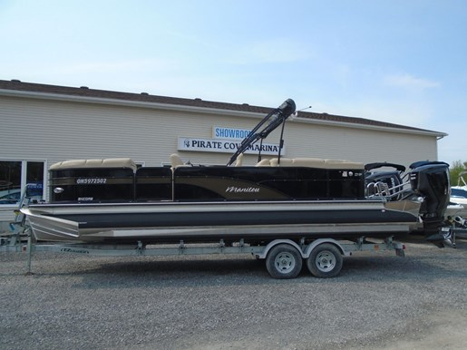 For Sale: 2018 Manitou 25 Encore Se Twin Engine For Sale - Man107 26ft<br/>Pirate Cove Marina
