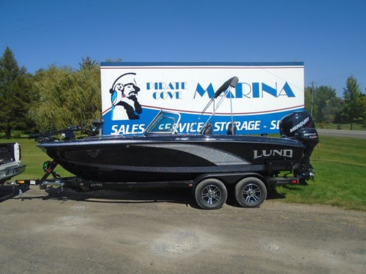 For Sale: 2018 Lund 202 Pro V Gl Staff Demo 20ft<br/>Pirate Cove Marina