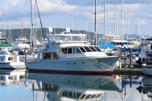offshore 58 pilothouse 2004 occasion bateau à vendre au vancouver