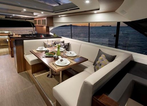2019 Riviera 6000 Sport Yacht Photo 18 of 66