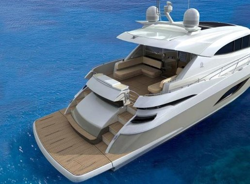 2019 Riviera 6000 Sport Yacht Photo 62 of 66