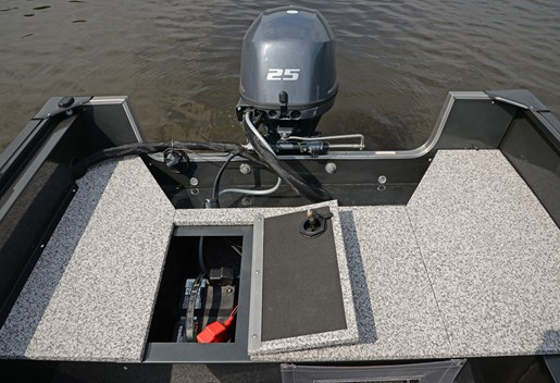 2018 MirroCraft Outfitter Side Console 165SC-O - White Photo 5 of 13