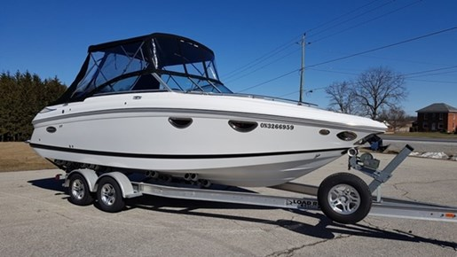 Cobalt 243 Cuddy Cabin 2012 Used Boat For Sale In