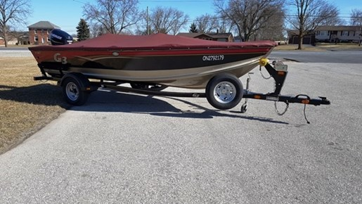 G3 167 Tiller 2011 Used Boat For Sale In Hagersville Ontario
