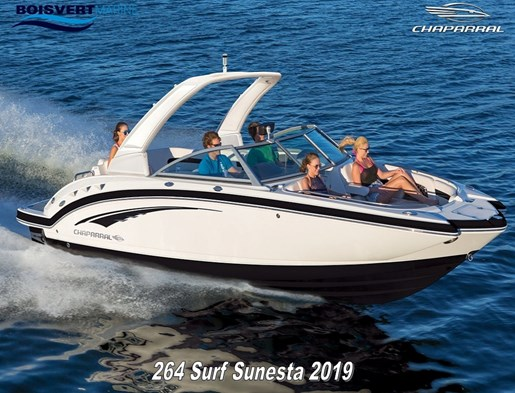 2019 Chaparral 264 SURF SUNESTA Photo 1 sur 2