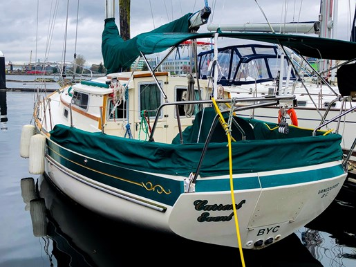 Gozzard 36 Pilothouse 1989 Used Boat For Sale In North Vancouver British Columbia Boatdealers Ca
