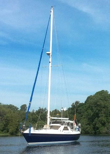 Tanzer 10 5 Pilothouse Sloop 1982 Used Boat For Sale In