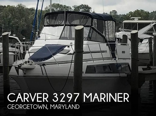 1988 Carver 3297 Mariner Photo 1 of 20
