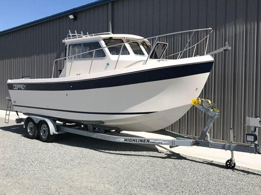 2018 Osprey Pilothouse 24 Fisherman Photo 9 of 86