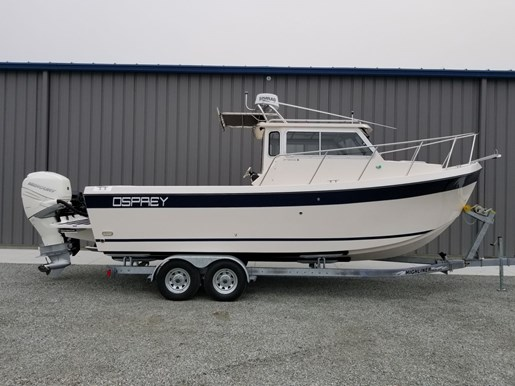 2018 Osprey Pilothouse 24 Fisherman Photo 1 of 90
