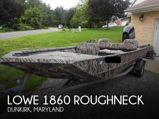 2014 Lowe 1860 Roughneck Photo 1 of 20