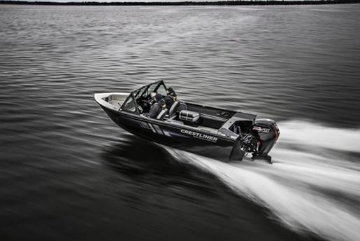 2018 Crestliner 1850 Commmander Elite Silver-Met / Black Photo 3 of 22