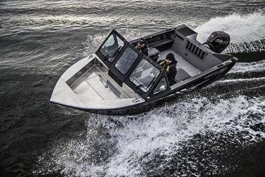 2018 Crestliner 1850 Commmander Elite Silver-Met / Black Photo 7 of 22