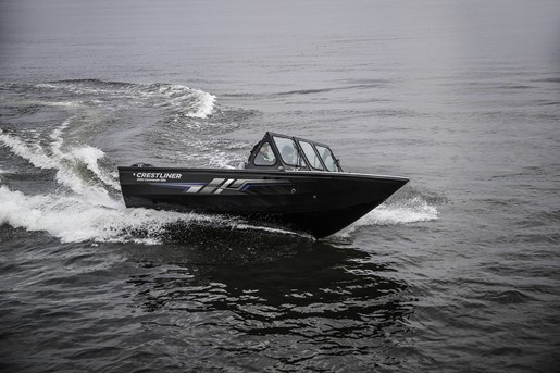 2018 Crestliner 1850 Commmander Elite Silver-Met / Black Photo 16 of 22