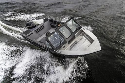 2018 Crestliner 1850 Commmander Elite Silver-Met / Black Photo 17 of 22