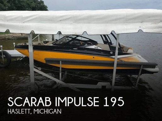 2015 Scarab Impulse 195 Photo 1 of 20