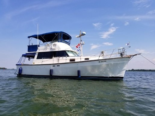For Sale: 1977 Silverton 34t 34ft<br/>North South Nautical Group Inc.