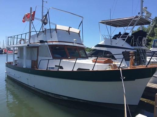 1976 MARINE TRADER 34 DC TRAWLER for sale
